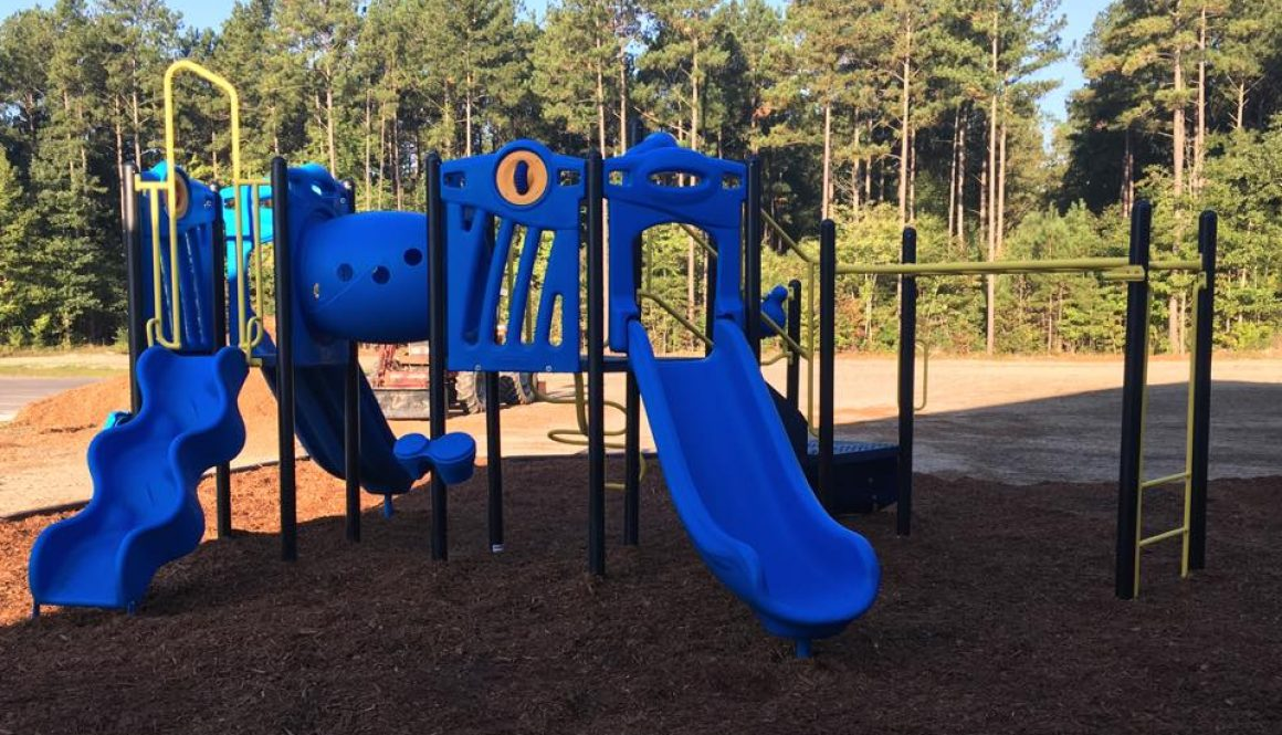 New Playground is taking shape